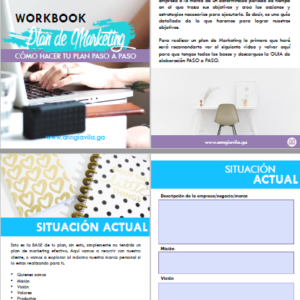 Workbook para Crear Tu Plan de Marketing Paso a Paso